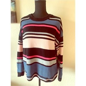 Divided H&M Striped Knit Sweater Small